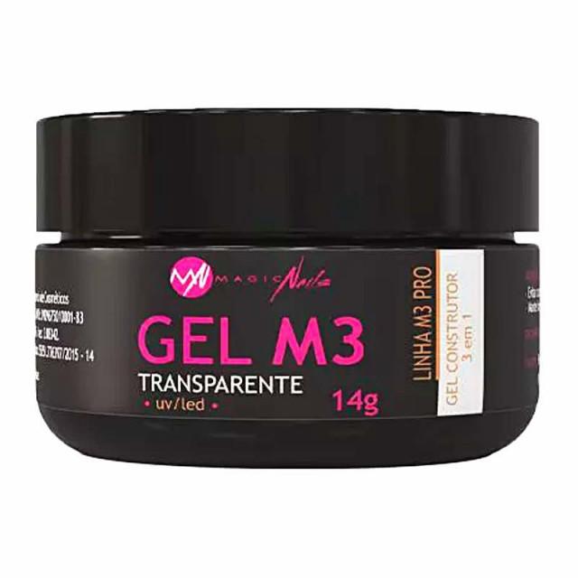 GEL M3 MAGIC NAILS 14G TRANSPARENTE