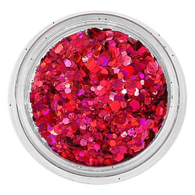 Mix de Glitter Pink 21 Holográfico