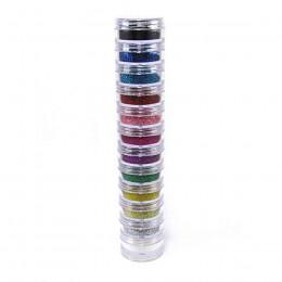 Super Torre de Glitter em pó 12 cores