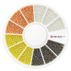 Caviar para unhas de metal cores metal