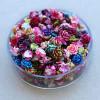 Flores para joias de unhas decoradas