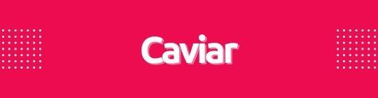 Mini banner caviar