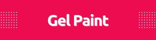 Mini gel paint