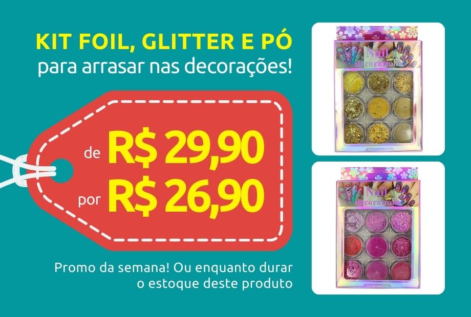 Mini - Kit glitter