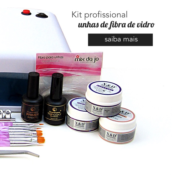 Kit profissional fibra