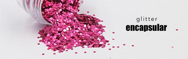 Glitter encapsular para unhas